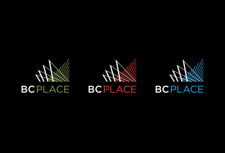 BC Place logo design